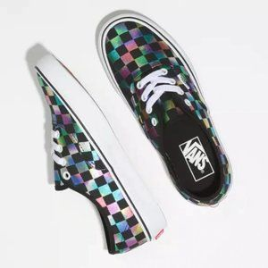 Brand New Vans Iridescent Black & White - 9.5